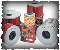 K&N oil filter for Jet Ski